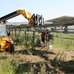 Ολοκλήρωση Εργασιών Ανακατασκευής Trackers ΝΕΔΑ σε Φ/Β Σταθμό 500KWp και Καθαρισμός Φ/Β Πλαισίων